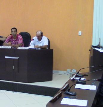 5ª Reunião Ordinária do Legislativo