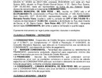 CONVÊNIO PARA CONCESSÃO DE EMPRÉSTIMO COM CONSIGNAÇÃO EM FOLHA DE PAGAMENTO